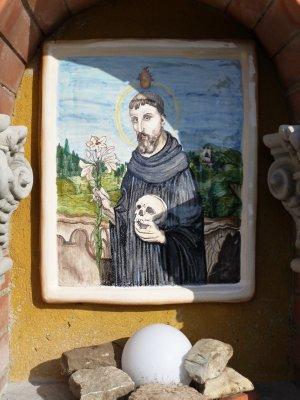 Cavriglia: Picture on a Shrine