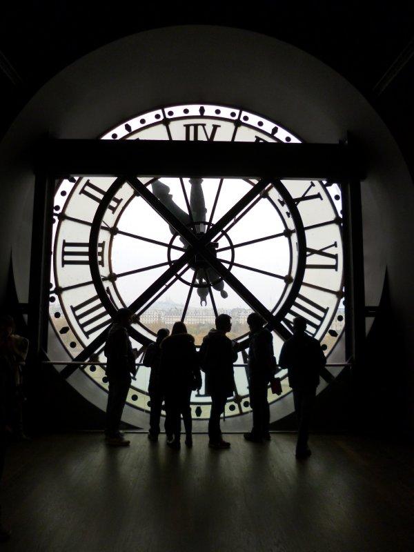 Paris: Musee D'Orsay Clock