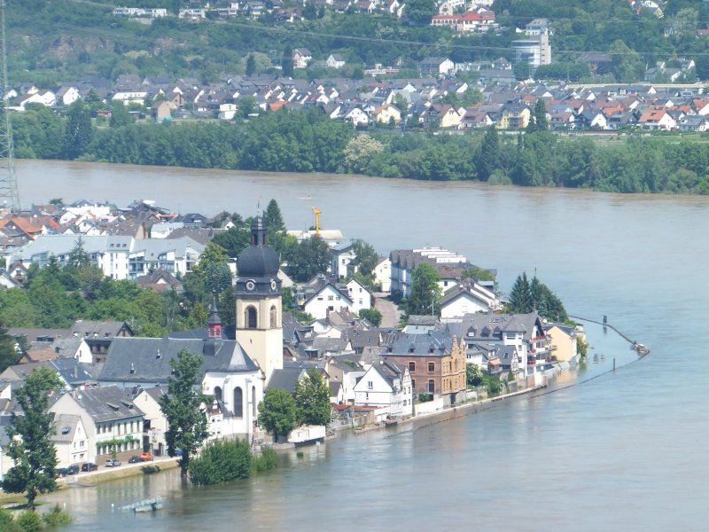 Flooding Along the Rhine