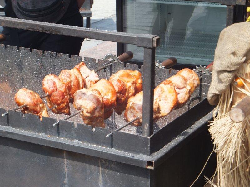 Spit Roasted Pork