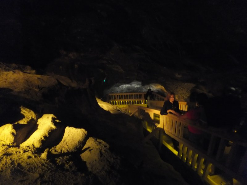 Old Stairs of the Salt Mine