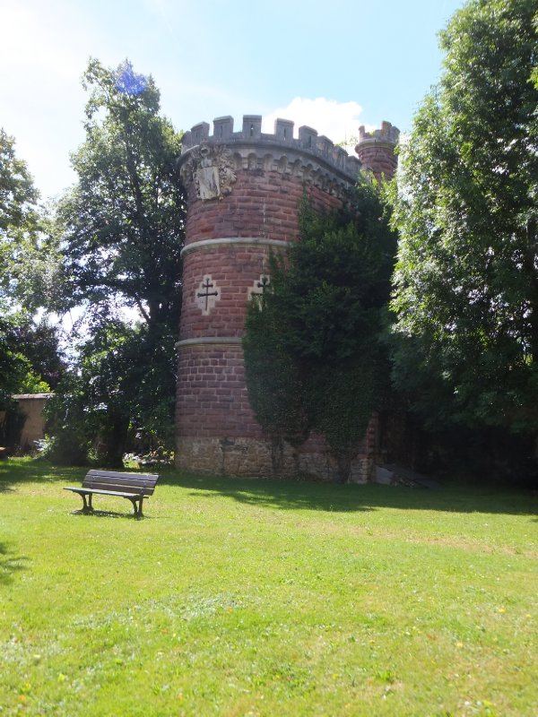 Tower on the School Grounds Dates to 1400s