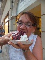 Waffles in Krakow