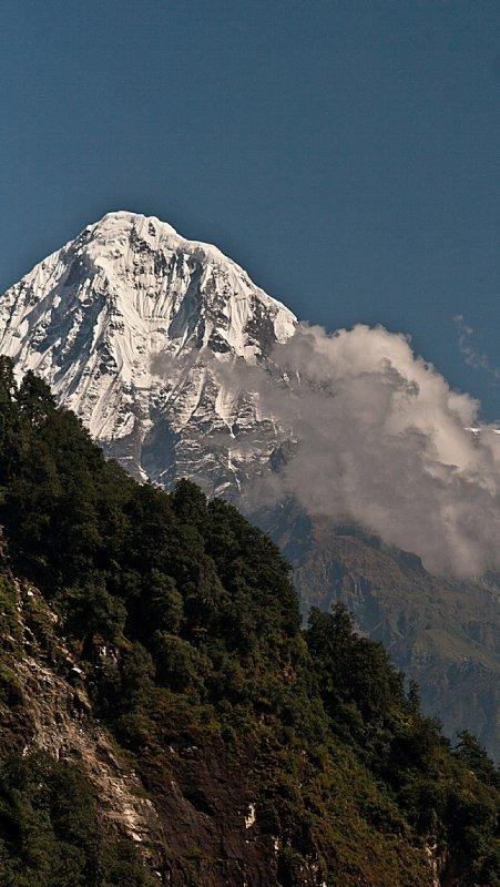 Himchuli Mountain