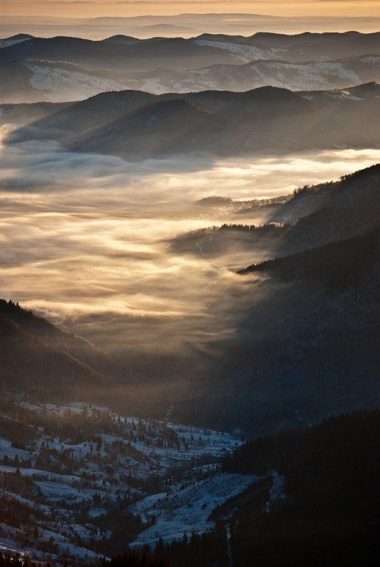 Ceahlau, romanian mountain