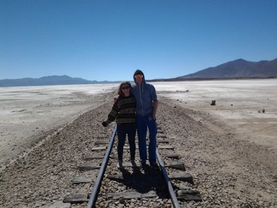 train tracks to Chile!