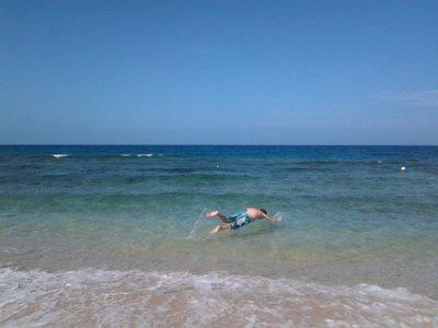 swimming in Wayalailai