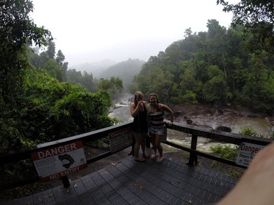 rainy day in Cairns