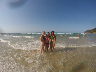a beach day in Noosa