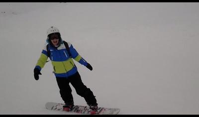 snowboarding in Queenstown