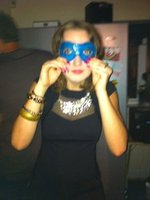 Me acting a fool on my birthday :D