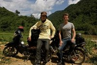 Two friends, two motorcycles, two cameras and a fifty mile mountainside ride.