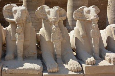 Egypte--tempel Karnak-1