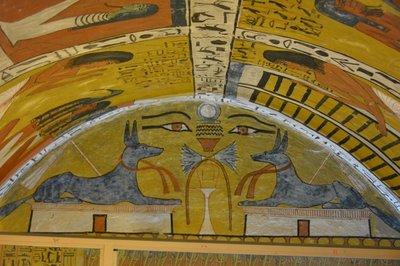 Egypte-Graftombes bij Luxor-2