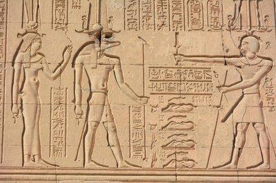 Egypye--tempel van Kom Umbu