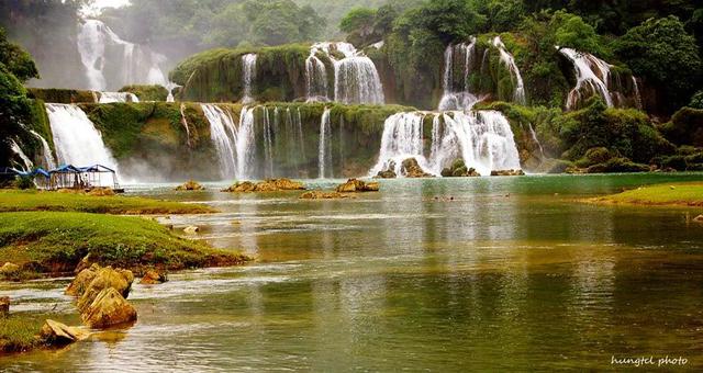 Ban gioc water fall