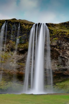Seljalandsfoss (Waterfall), Iceland