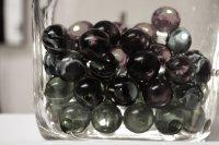 marbles in a bottle