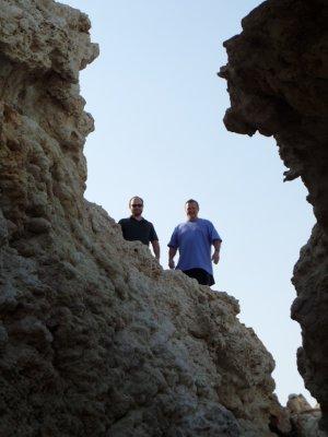 Walk to private beach rocks 2