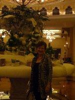 At the beautiful Shangri-la Hotel