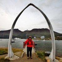 Standing Beneath a Whale Jaw Bone