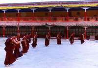 The dancing Monks