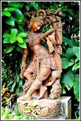 An ancient Indian sculpture
