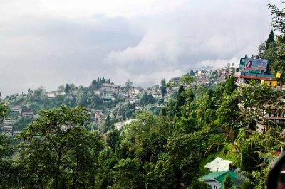 Darjeeling on a misty morning