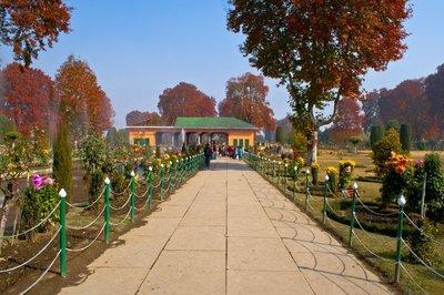 Shalimar - one of the mughal gardens in srinagar