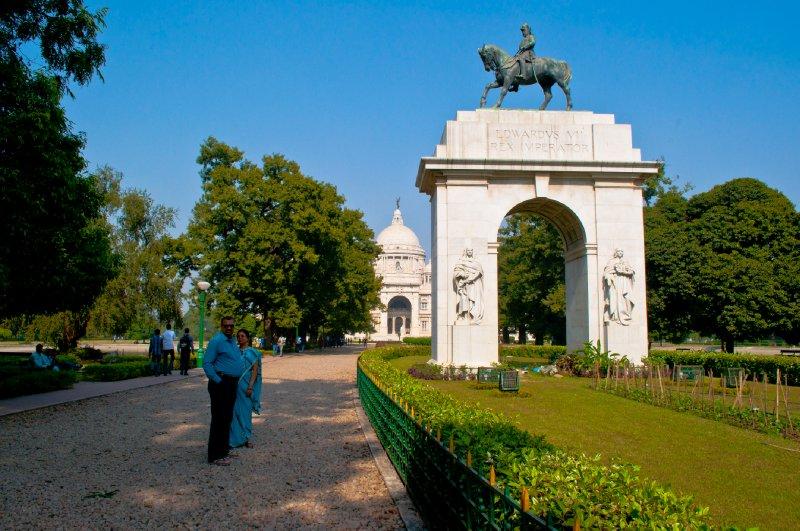 Victoria Memorial in Kolkata, India