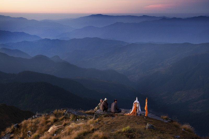 Prayer At Dawn