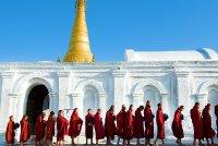 monks procression