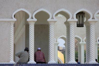 Friends at Omar Ali Saifuddin Mosque, Bandar Seri Begawan