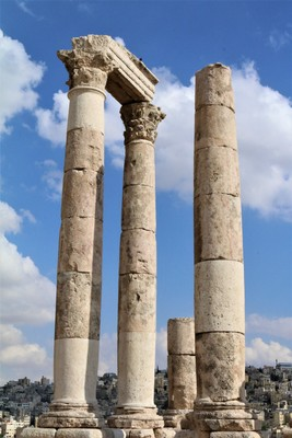 The Temple of Hercules Side, Amman