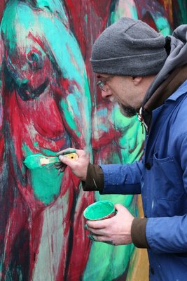 Painting in Montmartre