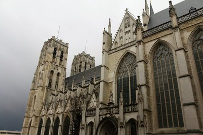 St Michael & St Gudula Cathedral, Brussels