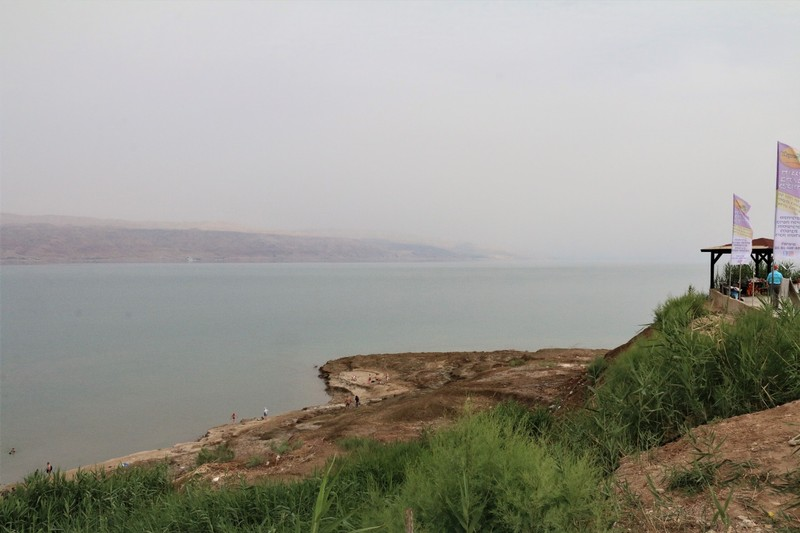 Neve Midbar and thr Dead Sea