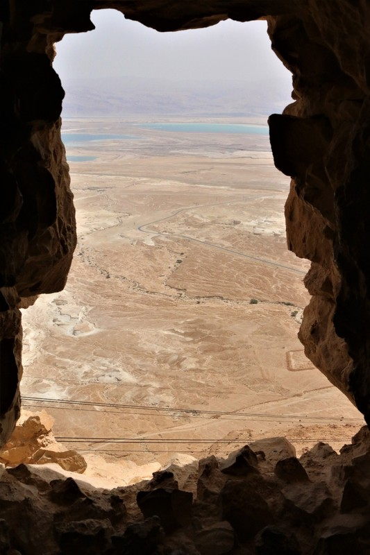 View to Dead Sea from Masada