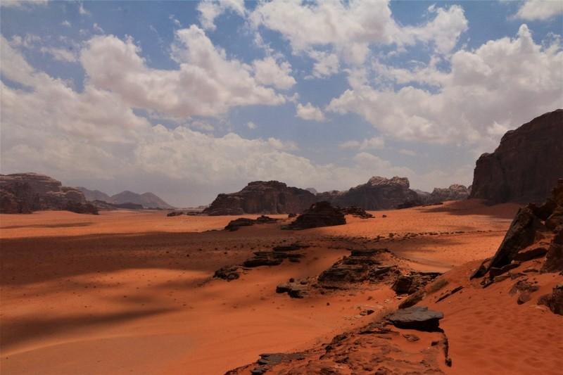 Wadi Rum from Sand Dune