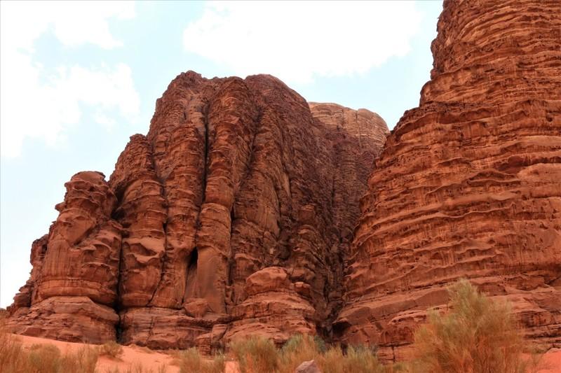 Crevice, Wadi Rum