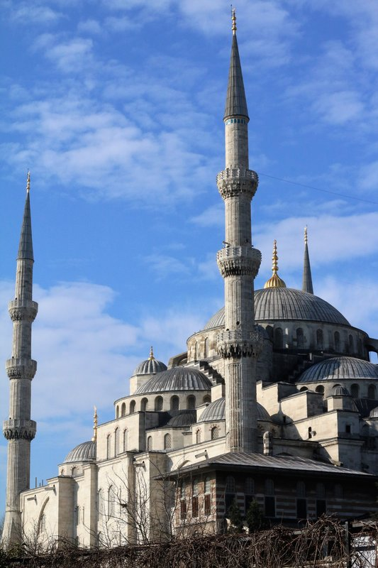 The Blue Mosque from Yeni Cami