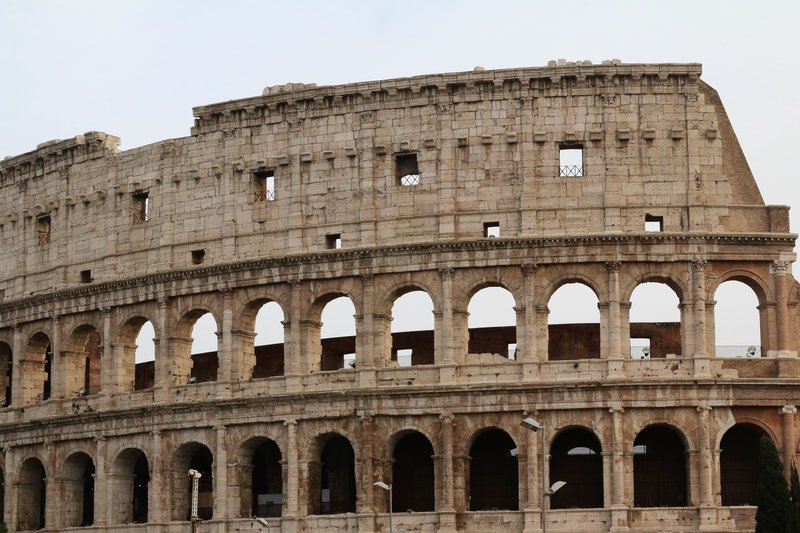 The Colosseum side, Rome