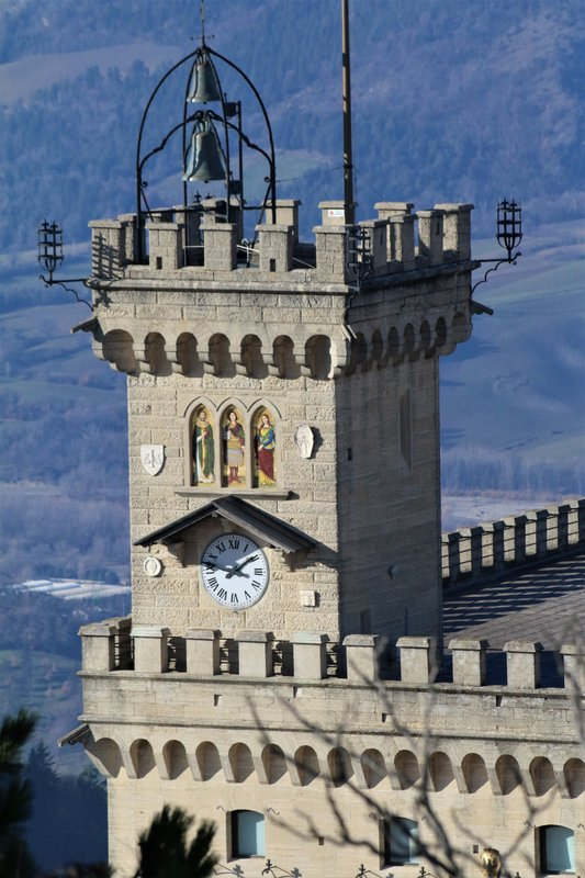 The Public Palace from the Tower, San Marino