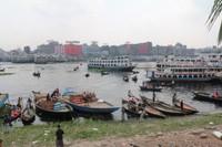 The busy banks of the Buriganga River, Dhaka