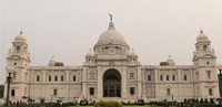 Front of Victoria Memorial Hall, Kolkata