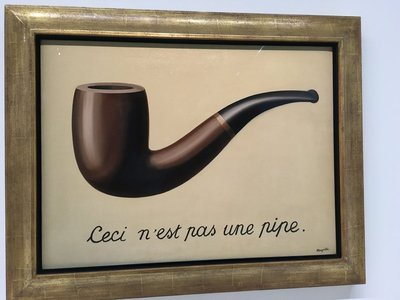 La Trahison des image, Magritte