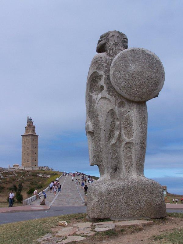 Breogán and El Torre de Hércules