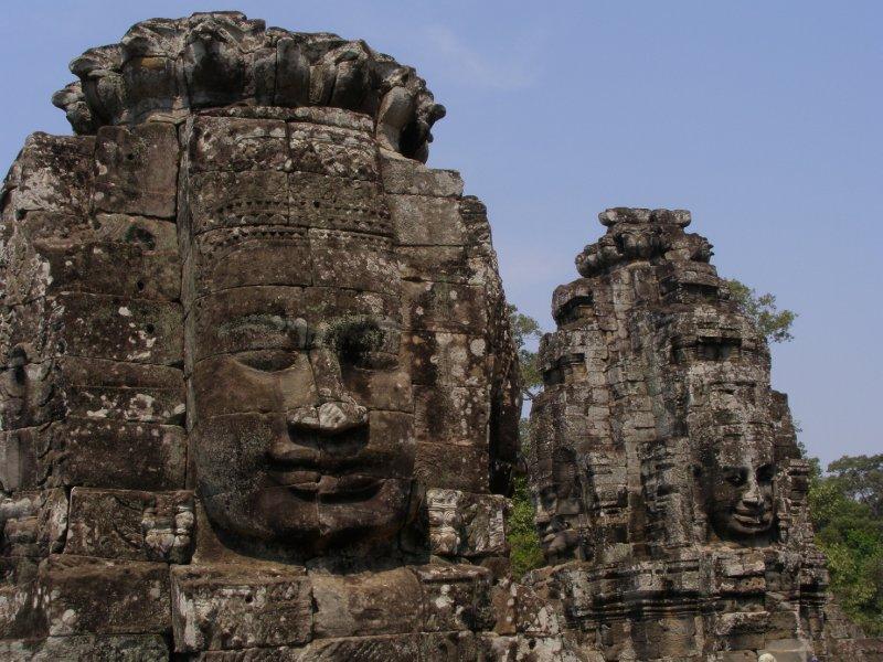 Angkor Thom - Bayon (8)