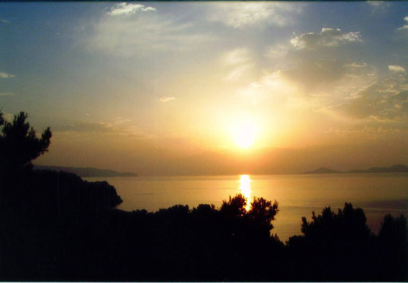 Sun rise in Alonissos