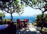 Alonissos Chora view from Aloni tavern